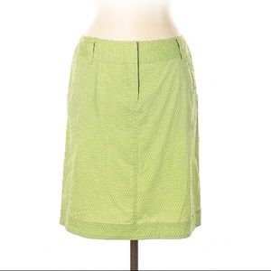 Lafayette 148 NY Polka Dot Casual Skirt